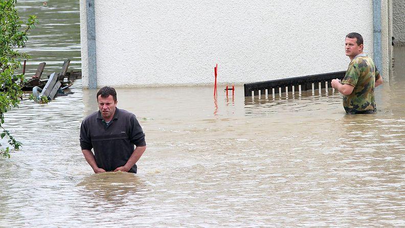 tulvat Bosnia Serbia