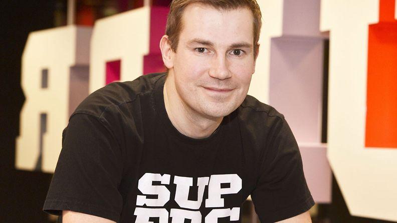 Suomalaisen peliyhtiön Supercell Oy:n pelitiimin vetäjä Mikko Kodisoja.