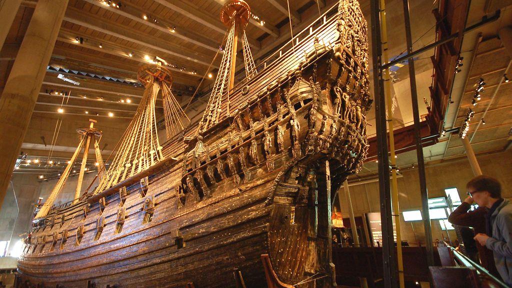 Milloin Vasa-Laiva Upposi