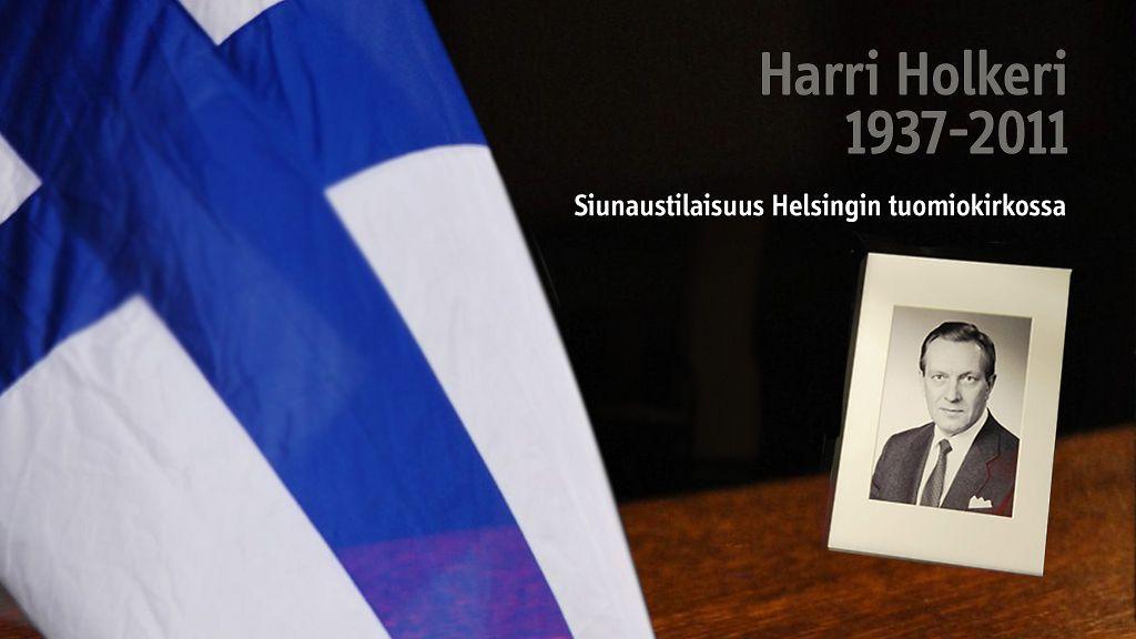 Suruliputus eduskunnassa Holkerin muistoksi - Kotimaa - Uutiset - MTV.fi