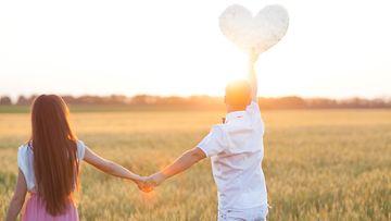 pariskunta ja sydän