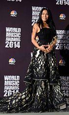 Indonesialainen laulaja Anggun