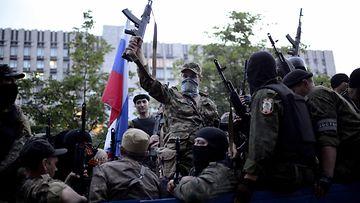 Ukraina, sotilas, Itä-Ukraina