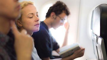 Lentokoneessa