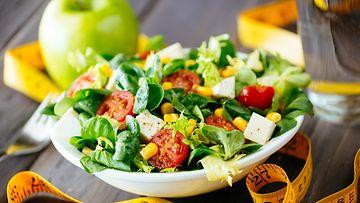 Salaatti,-laihdutus