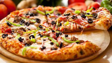 pitsa,-terveellinen,-mausteet