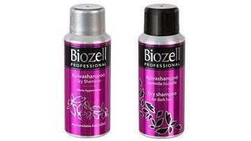 Testissä: Biozell Professional Kuivashampoot