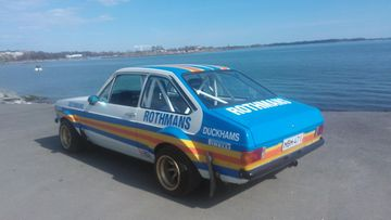 "Ford Escort -76 ""Ari Vatanen Rothmans replica"""