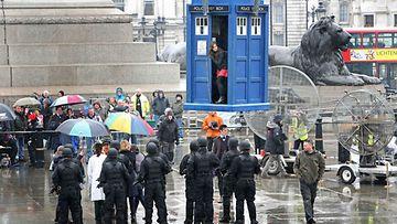 Doctor Who -sarjaa kuvataan Lontoossa