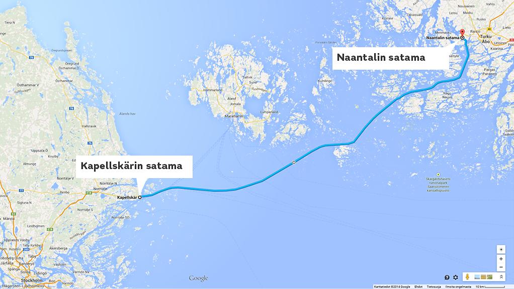 Naantali-Kapellskär Viking Line
