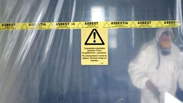 Tahalliset ja tahattomat laiminlyönnit ovat yleisiä asbestia sisältävien remonttikohteiden purkutöissä, kirjoittaa Keskisuomalainen. Kuvituskuvaa, kuva ei liity juttuun.