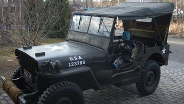 GBW Willys jeeppi