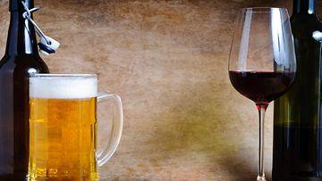 olut ja viini