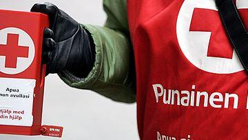 Suomen Punaisen Ristin järjestämä Operaatio Nälkäpäivä -keräys 20. syyskuuta 2007. (LEHTIKUVA)