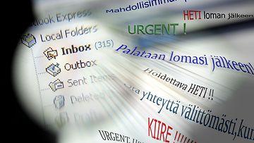 sähköposti inbox
