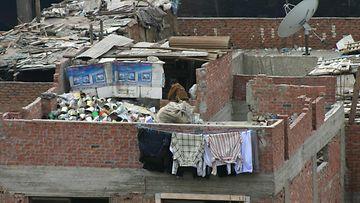 Mokattamin jätteenkerääjien kylä.