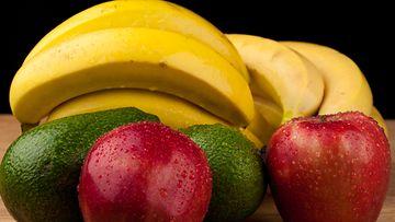 banaani,-avokado,-omena,-vitamiini