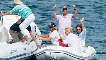Kaarle Kustaa ja Silvia lomalla (1)