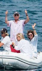 Kaarle Kustaa ja Silvia lomalla (2)