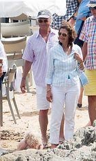 Kaarle Kustaa ja Silvia lomalla (3)