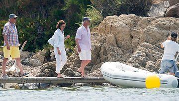 Kaarle Kustaa ja Silvia lomalla (5)