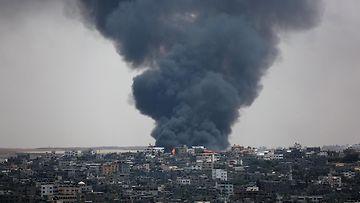 Gazassa savuaa