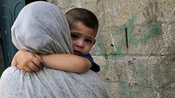Gaza, Israel, Palestiina