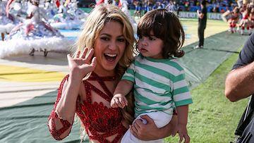 Shakira ja Milan-poika