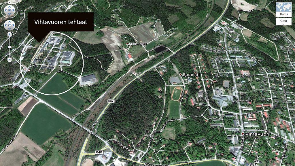Kamerahelikopteri Tarkkailee Laukaan Rajahdysvaaraa Mtvuutiset Fi
