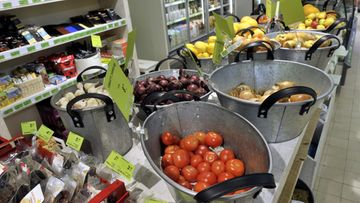 aitokauppa luomu vihanneksia