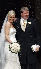 Vanessa ja Jari Kurri hääpäivänään vuonna 2004. (2)