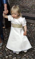 Odessa-tytär häissä 2004.