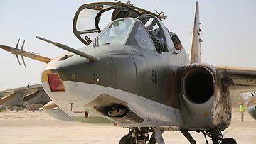 Su-25-hävittäjä
