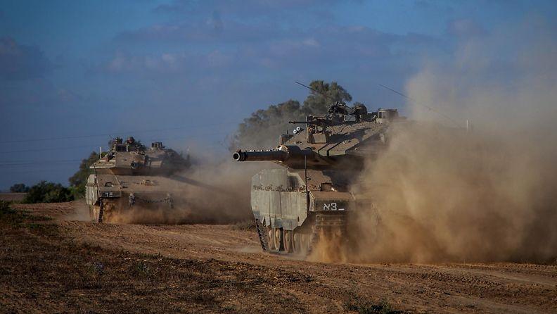 Maahyökkäys Gazaan 18.7.2014