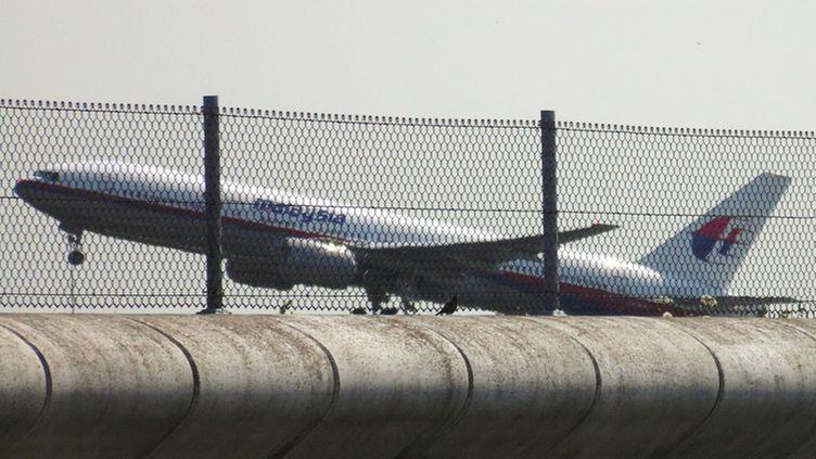 Malaysia Airlines lento MH17 nousemassa