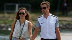 Jenson Button Jessica