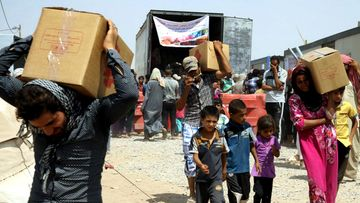 isis pakolaisleirit irak mosul