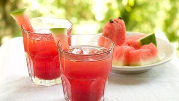 vesimeloni jääpalat
