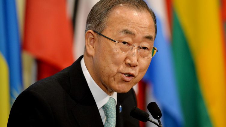 ban ki-moon new york gaza