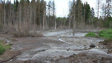 Jättikanaloiden lantaa säilytetään laitosten lähiealueilla