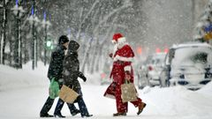 Pekka Pouta: Valkea joulu l�hes varma etel�ss�kin