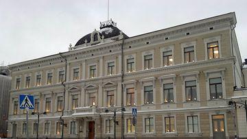 Korkein oikeus sijaitsee Kauppatorin tuntumassa Helsingissä. (Kuva: MTV3)