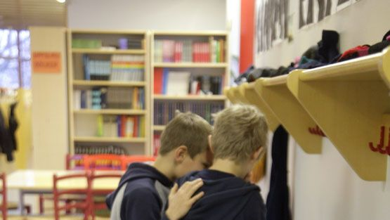 Koulukiusaaminen. ||| Bullying at school.