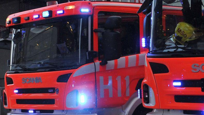 Kuvituskuva, kuvan paloautot eivät liity uutiseen. (Lehtikuva)