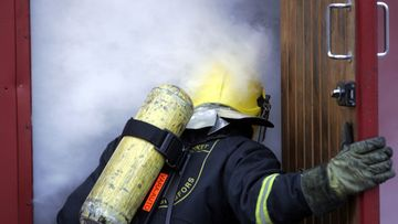 Kuvituskuva, kuvan palomies ei liity uutiseen. (Lehtikuva)