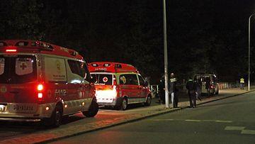 Veden varaan joutunut mies kuoli Helsingin Taivallahdessa 25.09.2009. Kuvaaja: Lassi Rinne