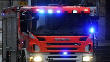 Kuvituskuva, kuvan paloauto ei liity uutiseen. (Lehtikuva)