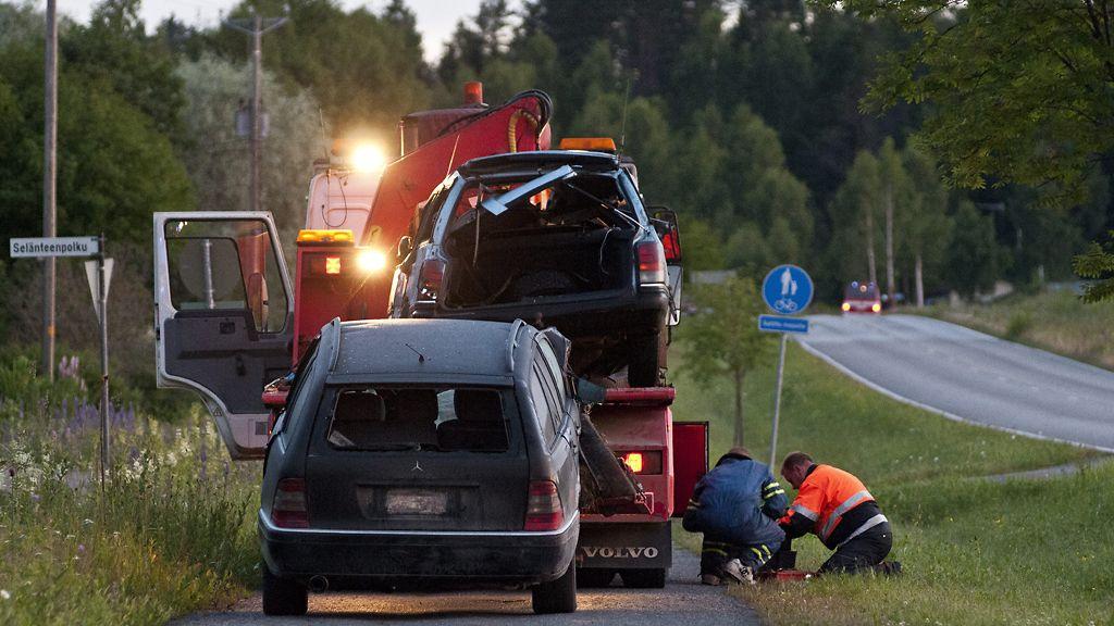 Onnettomuus Mäntsälä
