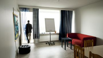 Maahanmuuttaien asumiskoulutuksessa käytettävä huoneisto Espoon Suvelassa (Kuva: Lehtikuva.)