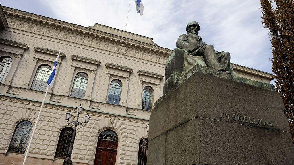 Suomen Pankki Patsas